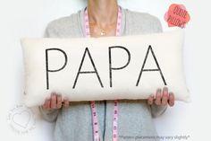grandparent gift, papa gift, grandpa, grandparent pillow, gifts for grandparents, grandparent gifts, grandpa pillow, gift for grandpa by LoveYouMoreBoutique on Etsy
