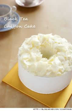 Tea chiffon cake recipe