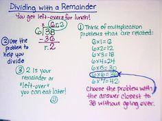 The Pirate Teacher. Dividing with remainder