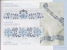 This Pin was discovered by Jal Cross Stitch Boarders, Cross Stitch Flowers, Cross Stitch Designs, Cross Stitching, Cross Stitch Embroidery, Cross Stitch Patterns, Peyote Beading Patterns, Swedish Weaving, Rico Design