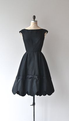 Shannon Rodgers dress vintage 1950s dress black