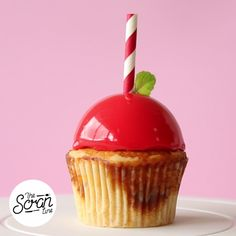 Why settle for a cherry on top when you can have a sweet, shiny candy apple instead?