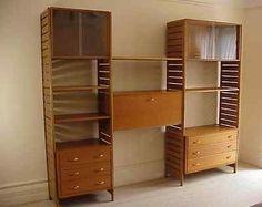 Retro-Vintage-Ladderax-Shelving-System