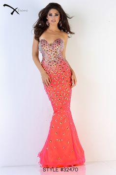 neon Mermaid prom Dress | Mermaid Trumpet Sweetheart Long Neon ...
