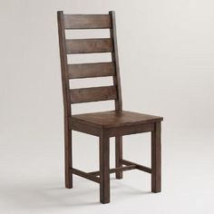 One of my favorite discoveries at WorldMarket.com: Wood Garner Dining Chairs, Set of 2