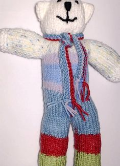 Charity bear made by Blue Light Babies, UK, for yarndale.co.uk Crochet Bear, Charity, Bears, Light Blue, Babies, Creative, Projects, Collection, Fashion