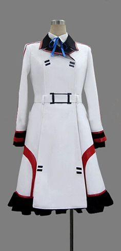 FOCUS-COSTUME Infinite Stratos Cecilia Alcott Dress Cosplay Costume >>> Check this awesome product by going to the link at the image.
