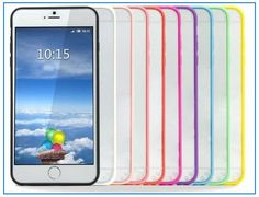 here is the skillful iPhone 6 Plus clear case with HD transparent vision Protect your iPhone 6 6S plus surface or back with beautiful color clear case