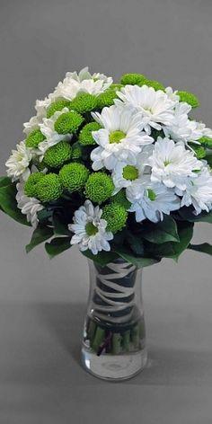 Svatební kytice chryzantémy Bacardi a santini Country - My site Bacardi, Prayer Jar, Hand Bouquet, Planting Bulbs, Green Flowers, Flower Arrangements, Country, Art Floral, Plants