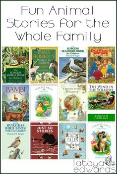 Bedtime stories are a huge hit in our home. Do you have an animal lover? Here's a collection of our favorite animal books that we have read aloud as a family. Are any of your family's favorites on the list?