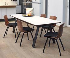 DM7700 rectangular extendable dining table