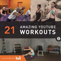 The Best Free Workout Videos on YouTube #HomeWorkouts #FastWorkouts #YouTube http://greatist.com/move/best-free-workout-videos-youtube