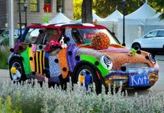 The most awesome yarn bombing from the Utah Arts Festival 2011... what does 2012 have in store?