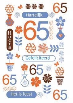 Verjaardag 65 Jaar Spreuken Happy Birthday Birthday Wishes En