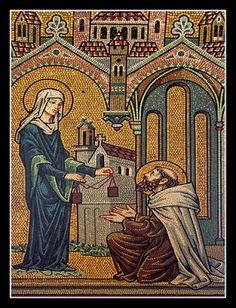 el blog del padre eduardo: San Simón Stock y la Virgen del Carmen