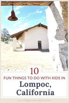 Looking for a great California road trip destination? From biking to wine tasting, Lompoc has everything you need for a family-friendly adventure! Here are ten things to do in Lompoc with kids. #Lompoc #California California History, California Travel, Lompoc California, California Attractions, California Native Plants, Road Trip Destinations, Travel Expert, Travel Reviews, United States Travel