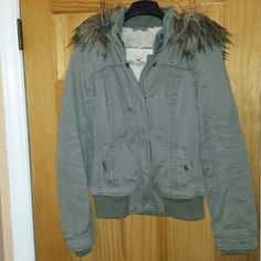 Coat Hollister coat Hollister Jackets & Coats