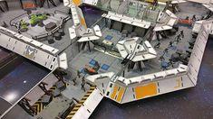 Kickstarter now live! Laser terrain - modular painted terrain. #LaserTerrain #avpthehuntbegins #spacehulk #infinitythegame #warhammer30k #zonemortalis