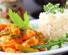 Thai Red Curry Chicken - Boost metabolism & flavor with red peppers