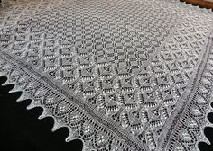 Lace of Estonia....would be awesome for a christening or wedding