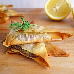 Spanakopita (Spinach and Feta Phyllo) Triangles | Host The Toast Blog