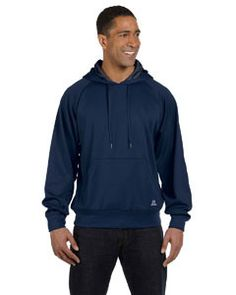 Russell Athletic Tech Fleece Pullover Hood 854EFM NAVY