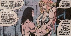 Conan the Barbarian #44. Red Sonja Art by John Buscema. #Conan #RedSonja #JohnBuscema