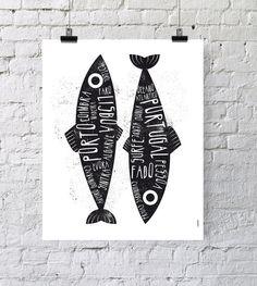 He encontrado este interesante anuncio de Etsy en https://www.etsy.com/es/listing/249866845/portugal-poster-sardina-arte-impresion