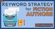 Learn about a Kindle Keyword strategy that will help Fiction authors sell more books. Don't believe that can be done? Check this out + we show examples! Kindle, Believe, Writer Tips, Seo Keywords, Any Book, Marketing, Fiction Books, Writing A Book, Book Publishing