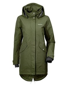 Koop Jas - Tanja Womens Parka Peat Online op www.localsunited.nl voor slechts € 229,95. Vind 14 andere Didriksons producten op www.localsunited.nl. Womens Parka, Raincoat, Fashion, Rain Jacket, Moda, Fashion Styles, Fashion Illustrations