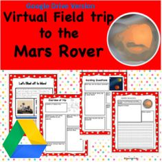Google Version- Virtual Field Trip to the Mars Rover Virtual Field Trips, Google Drive, Mars, Learning Activities, March