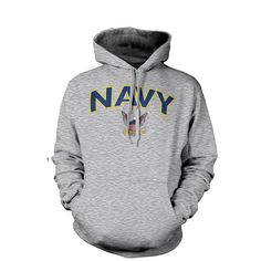 Anywhere Hooded Sweatshirt United States Navy-Anytime