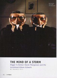 Storm Thorgerson  Sythesis Magazine USA