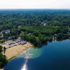Sliver Lake Wilmington, Ma By Jamie Boudreau  Airgoz Aerial Photography