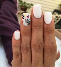 Cute nails - nails - # a Dream Nails, Love Nails, Stylish Nails, Trendy Nails, Dipped Nails, Shellac Nails, Cute Acrylic Nails, Nagel Gel, Fancy Nails