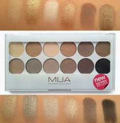 MUA Makeup Academy Undress Me Too Palette. Dupe of the Urban Decay Naked 2 palette Mua Eyeshadow Palette, Naked Palette, Mua Palette, I Love Makeup, Kiss Makeup, Eye Makeup, Makeup Tips, Makeup Ideas, All Things Beauty