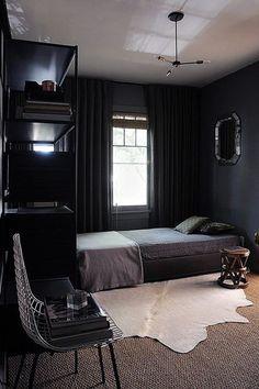 Dark Contrast - Our Favorite Dark Living Spaces - Photos