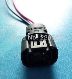 H16 nylon 100pcs Heat Resistance Halogen headlamp pigtail connector 13cm wire car socket