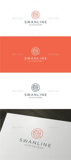 Swan Line Logo — Vector EPS #royal #luxury • Available here → https://graphicriver.net/item/swan-line-logo/18280173?ref=pxcr