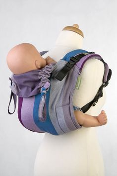LennyLamb Buckle Onbuhimo Carrier with different shades of purple + a blue accent Baby Carrying, Blue Accents, Shades Of Purple, Lamb, Gym Bag, Diamond, Baby Carriers, Babies, Babys