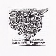 Draw Coffee - Ben Blake's growing collection of filter doodles celebrate the coffee community
