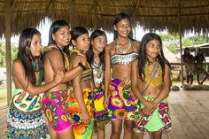 Wounaan Indigenous Body Paint