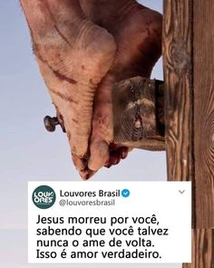 Um sacrifício muito grande tudo por amor♥️🙏 Jesus Peace, Jesus Is Life, Jesus Christ, Life Tumblr, Gods Not Dead, Jesus Freak, Jesus Loves Me, King Of Kings, Dear God