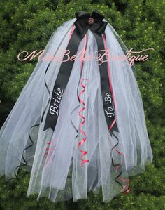 Bachelorette Bridal Veil Shower S Night Out Party Custom Made