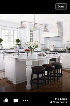 Nice cheery kitchen