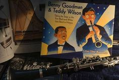 Promoting Summer Reading - Day 21 - Benny Goodman & Teddy Wilson, by Lesa Cline-Ransome: chosen for the CCBC 2015 Choice by the Cooperative Children's Book Center at the University of Wisconsin Madison's School of Education