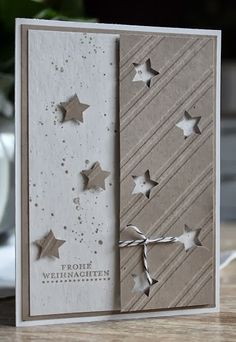 Stars; like the positive and negative patterns