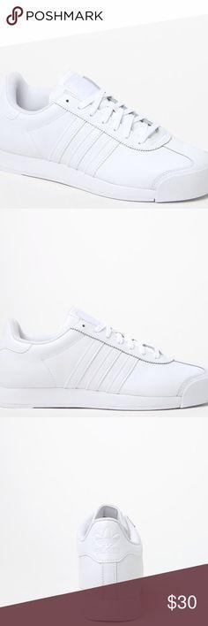 Adidas Men's White Samoa Sneakers, 6.5 Adidas Men's White Samoa Sneakers, 6.5 adidas Shoes Sneakers