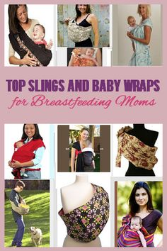 Top Slings and Baby Wraps for Breastfeeding Moms
