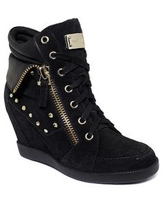GUESS Women's Shoes - sneakers wedges
